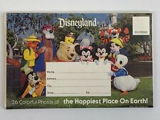 Vintage Disneyland Fold Out 26 Colorful Photos of the Happiest Place on Earth!