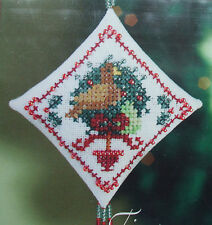"Mill Hill Counted Glass Bead Kit  ""Partridge"" (Tiny Treasured Diamond Ornament)"