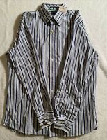 "NWT American Eagle Outfitters Men's ""Blue Issue"" Button Up Shirt ~ Size Large"