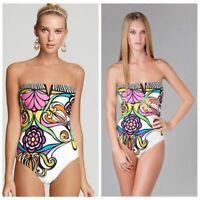 les femmes en maillot de bain les vêtements de plage un dos nu imprimé bikini