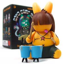 Kidrobot BAND CAMP 3000 LABBITS Mini Series SKID CHILL Vinyl Figure Labbit
