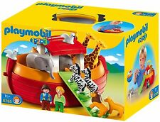 Playmobil 6765 1.2.3 Noah's Ark Pairs Of Animals Play Set