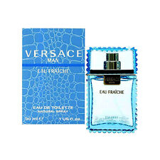VERSACE MAN EAU FRAICHE-EDT-SPRAY-1.0 OZ-30 ML-AUTHENTIC-MADE IN ITALY