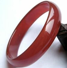 New beautiful 100% Natural red agate jade bangle bracelet AAA
