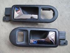Pinzamientos delantera derecha izquierda vw golf 4 bora Passat 3b 3bg manija de puerta interior negro