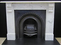 Original Victorian Marble Corbel Fireplace Surround     M108