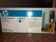 HP Q6001A Cyan Toner Cartridge Genuine New Sealed Box
