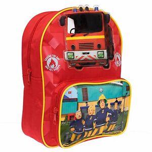 Fireman Sam Backpack   Kids Fireman Sam Bag   Fireman Sam Rucksack