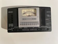 Seiko ST-1100 Chromatic Tuner for Guitar And Bass 1990's Excellent Condition