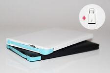 Powerbank Kreditkarte 2500mAh Notfallakku Ersatzakku für Smartphone S8 G6 IPhone