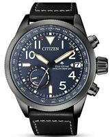 Citizen Eco-Drive Men's Satellite Wave Chronograph 44mm Watch CC3067-11L