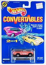 Vintage Hot Wheels Convertables Wreckers Pick-Up Truck New On Card 1990