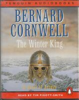 Bernard Cornwell The Winter King 4 Cassette Audio Book Abridged FASTPOST