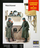 Master Box 3546 - 1/35 - Watch Tower With Four Soldier