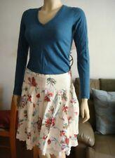 *Twenty One (21)**  Floral Skirt. Pre-loved
