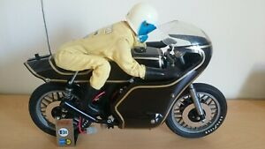 Graupner / Kyosho / Eleck Rider RC Radio Controlled Motorcycle & Rider 1/6 Scale