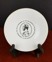 "Vintage Royal Doulton Pottery 150th Anniversary 1965 Plate England 6"" collector"