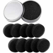 Wfplus 11 Pieces Color Removal Sponge Kit - Makeup Brush Cleaner With 10 Dry For