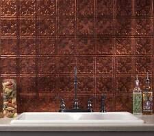 "Moonstone Copper Traditional #10 6""x6"" Fasade Backsplash B57-18"