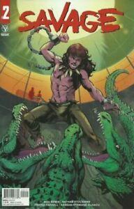 Savage #2 Marcus To Cover Valiant Comics 2021 nm