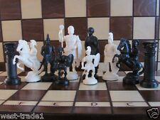 Brand New ♚  Roman Design Chess Pieces Set♞