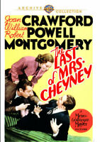 The Last of Mrs. Cheyney DVD NEW