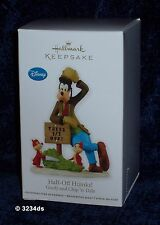 2012 Hallmark HALF-OFF HIJINKS! Disney's Goofy, Chip 'n' Dale Reveal #3 Ornament