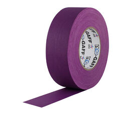 "Pro Tapes 2"" x 55 Yards Pro Gaff Tape - Purple"