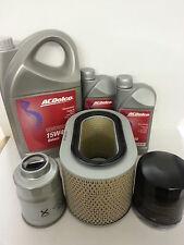 Mitsubishi Pajero 2.5TD 2.5 Oil Air Fuel Filter 7Lt Oil 15W40 Service kit 86-00