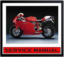 DUCATI 999 999S 999R BIKE REPAIR SERVICE MANUAL~ DVD
