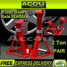 Car Adjustable 2 Tonne 2000kg Fixed Base Axle Stands