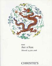 CHRISTIE'S PARIS ASIAN ART Chinese Ceramics Snuff Bottle Bronzes Buddha Catal 06