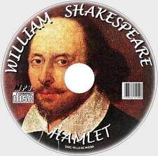 Hamlet William Shakespeare Clásico audiolibro MP3 CD Inglés educación