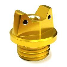 MotoSculpt Oil Fill Cap Plug for Kawasaki KX125 KX250 KX500 - GOLD(Fits: 1986 KX250)