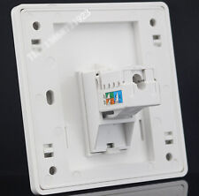 Wall plate One Port Socket Network Ethernet LAN CAT6 Panel Faceplate RJ45