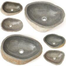 Accesorio lavabos piedra natural flußstein sobrepuesto Findling lavabos