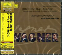 CLAUDIO ABBADO (CONDUCTOR)-WAGNER: ORCHESTRAL WORKS -JAPAN SHM-CD D46