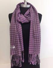 NEW Women Soft PASHMINA SILK Classic SHAWL Scarf Stole WRAP Lavender #O05
