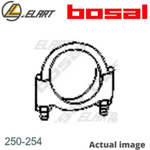 CLAMP EXHAUST SYSTEM BOSAL 7545221 7594362 7628468 60808010 1613141 1613142