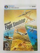 Microsoft Flight Simulator X: Deluxe Edition (PC, 2006)