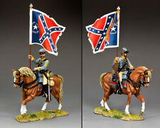 KING & COUNTRY CIVIL WAR CW104 CONFEDERATE 29TH TEXAS FLAGBEARER