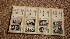 2016 IRELAND POST MINT STAMPS, EASTER UPRISING PARTICIPANTS SET OF 4 STAMPS MNH
