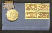 George Washington Medallion American Bicentennial First Day Cover-Price Per One
