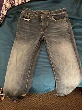 American Eagle Mens Jeans Size 32x34 Slim Next Level Flex Stretch Dark Blue