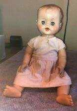 vintage baby dolls jointed eyes open and close ~1963