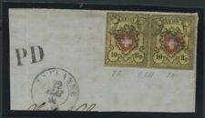 SCHWEIZ 1850 Nr 8II gestempelt (106929)
