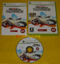 BURNOUT PARADISE THE ULTIMATE BOX XBOX 360 Versione Italiana »»»»» COMPLETO