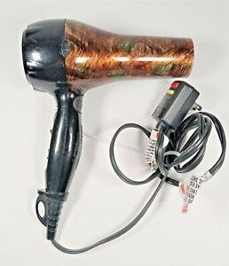 REVLON RVDR5136 1875 watt 2 Speed Hot + Warm Hair Dryer W/ Ion Select Dial Used