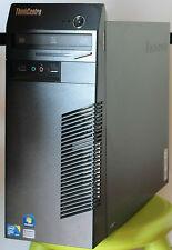 PC Computer Lenovo ThinkCentre M70e Intel Core2Duo E8500 2x 3.16GHz 4GB 320GB W7