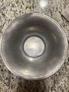 Pewter Fruit Bowl